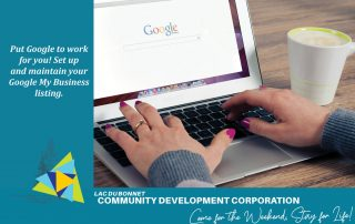 Put Google to Work for your Lac du Bonnet Business