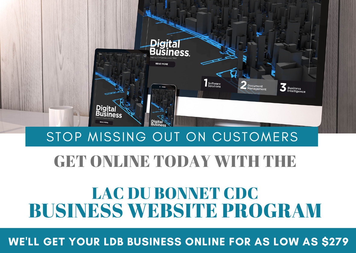 Get your Lac du Bonnet online with a Website today