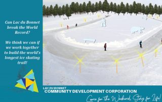 Can Lac du Bonnet Break the World Record for the longest ice skating trail?