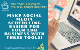 Make Social Media easier for your Lac du Bonnet Business